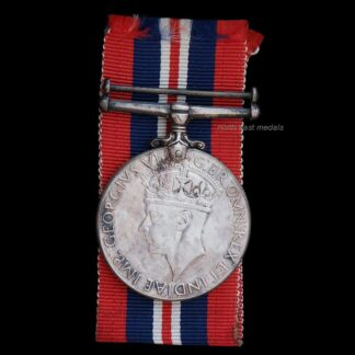 WW2 1939-45 War Medal, Canadian Issue, in Silver