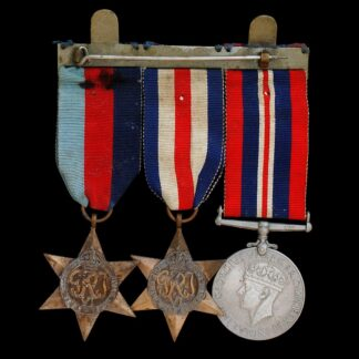 WW2 Medal Group of Three, including the France and Germany Star