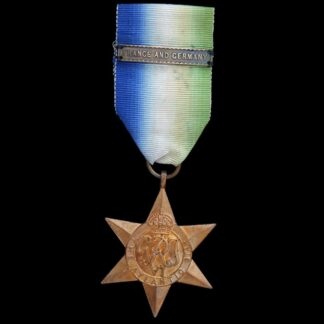 WW2 Atlantic Star with 'France and Germany' Ribbon Bar