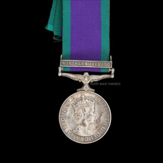 1962 General Service Medal Clasp 'Northern Ireland, Corporal Huntley, Royal Corps of Transport