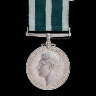 GVIR Royal Naval Reserve Long Service Good Conduct Medal Wt Eng Renwick