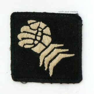 6th Armoured Division Formation Sign Cloth Arm Badge