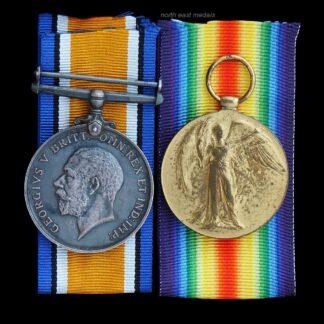 British War Medal and Victory Medal, Seaman Clark, Royal Navy