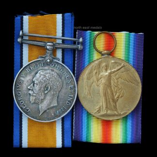 British War and Victory Medal Pair to Private Cooke, Army Service Corps