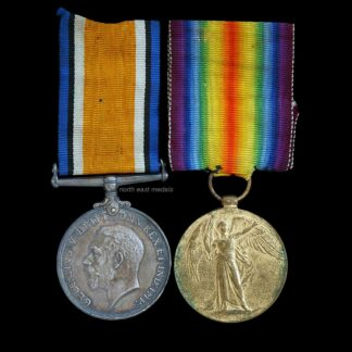 British War and Victory Medal Pair, Gunner Ellery, Royal Artillery