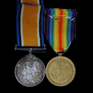 British War and Victory Medal Pair, Private Lapham, 13th London Regiment