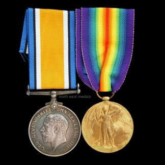 British War and Victory Medal Pair, Gunner Maggs Royal Artillery