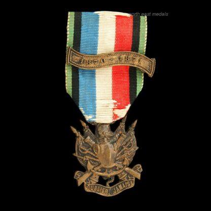 French Franco-Prussian War Veteran's Commemorative Medal