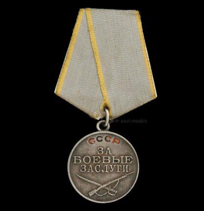USSR/Soviet Republics/Russia Medal For War Merit