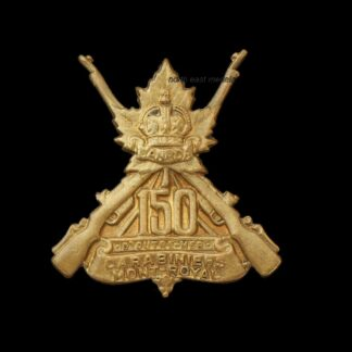 150th Battalion CEF Canadian Expeditionary Force Collar Badge