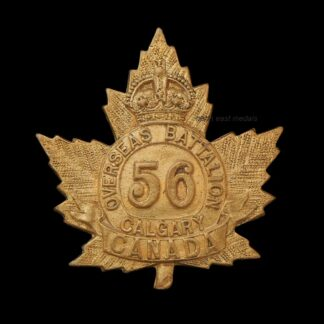 56th Battalion CEF Canadian Expeditionary Force Badge