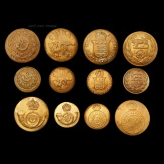 Assorted Infantry and Corps Uniform Buttons Large and Medium