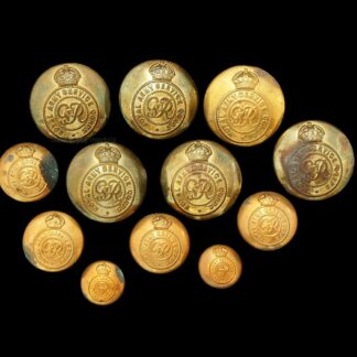 Collection of RASC Royal Army Service Corps Uniform Buttons (12)