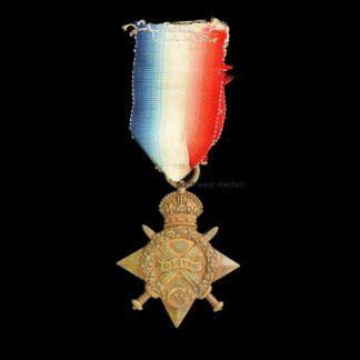 1914-15 Star Medal, Sergeant Wright, Royal Field Artillery