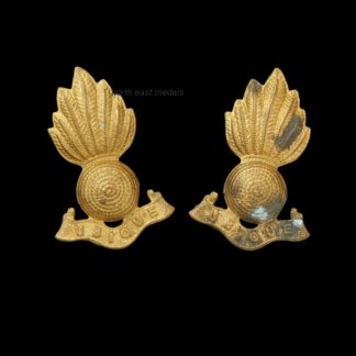 Matching Pair of Royal Artillery Other Ranks Collar Badges