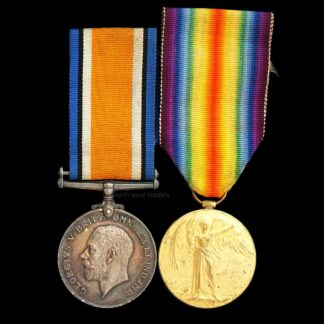 British War and Victory Medal Pair, Private Kirby Army Service Corps