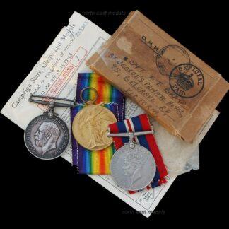 British War & Victory Medal Pair Private Brand, Argyll & Sutherland Highlanders DoW