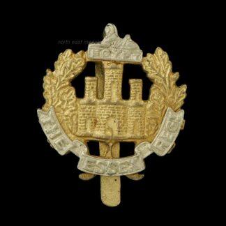 Interesting Theatre Made Essex Regiment Cap Badge, Maker Marked