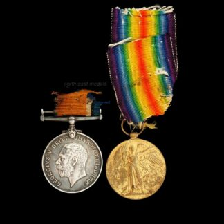British War and Victory Medal Pair, Driver Berry, Royal Artillery