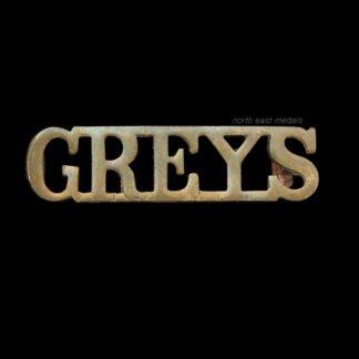 Royal Scots Greys (2nd Dragoons) Shoulder Title Badge