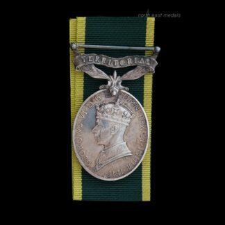 GVIR Efficiency Medal (Territorial) Craftsman Ireland, Royal Electrical & Mechanical Engineers