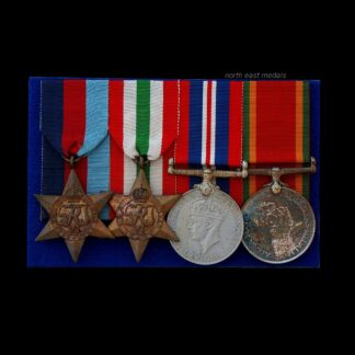 South African WW2 Medal Group of 4, SA Engineers then Signals