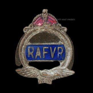 RAFVR Royal Air Force Volunteer Reserve Lapel Badge