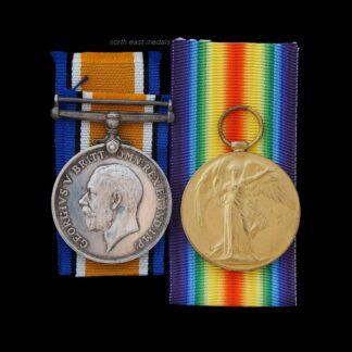 British War & Victory Medal Pair, Thurlbeck, Royal Engineers.