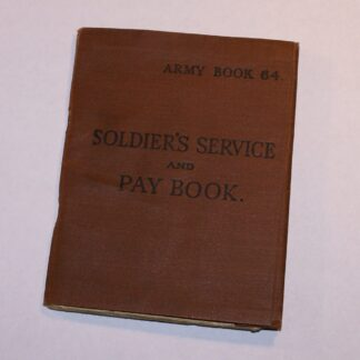 WW2 REME Sergeant's Soldier's Service & Pay book