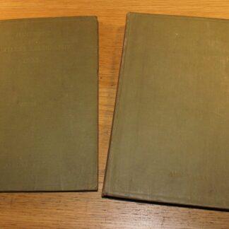 Royal Navy Admiralty Handbook of Wireless Telegraphy 1938 Two Volume Set