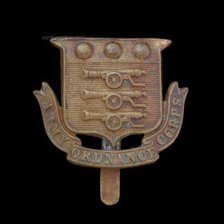 Great War Army Ordnance Corps AOC Cap Badge