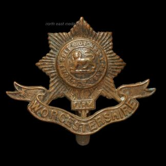 Great War Worcestershire Regiment Cap Badge