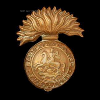 Great War Northumberland Fusiliers Cap Badge