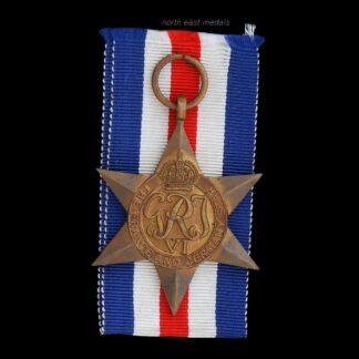 WW2 France & Germany Star Medal