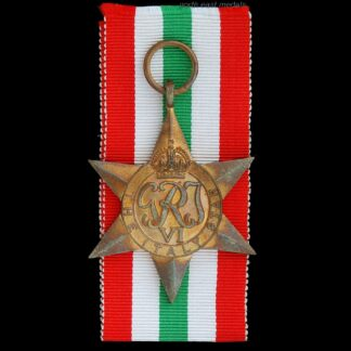 WW2 Italy Star Medal
