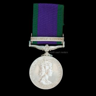 1962 General Service Medal Clasp 'Northern Ireland' Argyll & Sutherland Highlanders