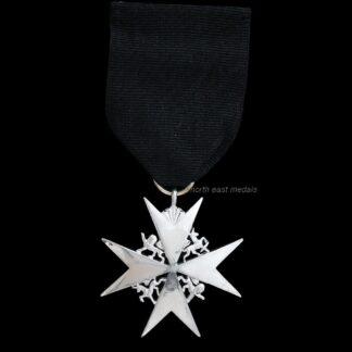 Order of St John Serving Brother/Sister Breast Badge Medal