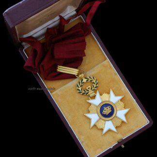 Belgian Order of the Crown Commander's Neck Badge Medal