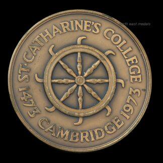 St Catherine's College Cambridge 1473-1973 Commemorative Medal 500 Years