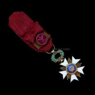 Miniature Belgian Order of the Crown Medal