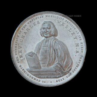 1839 Wesleyan Methodist Society Centenary Commemorative Medal