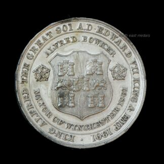 King Edward VII & Alfred the Great Commemorative Medal