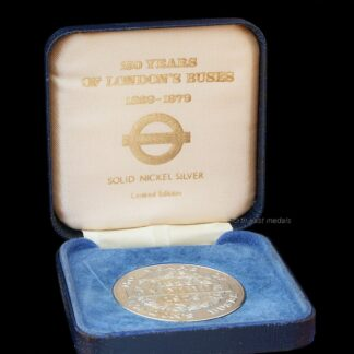 150 Years of London Buses 1829-1979 Commemorative Medal