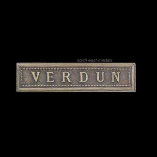 Great War French Verdun Medal Ribbon Bar