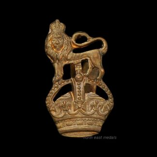 King's Crown and Lion Badge. (Royal Marines?)