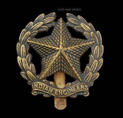 Indian Army Engineers Cap Badge