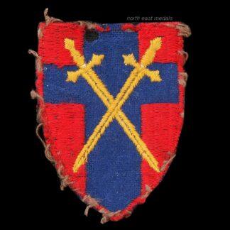 British Army of the Rhine 1945 Formation Sign Arm Badge HQ BAOR