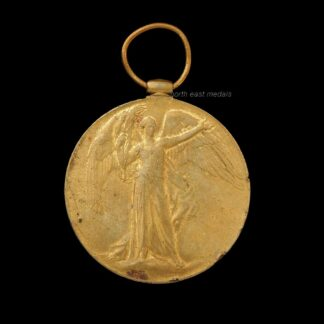 Victory Medal, Private Martin, Scottish Rifles (Cameronians)