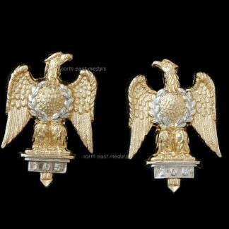 Royal Dragoons (1st Dragoons) Staybrite Collar Badges