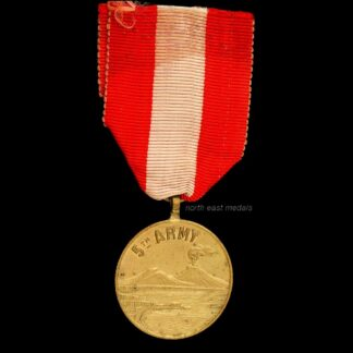 5th Army Commemorative Medal of the Entrance of the Allied Armies' in Naples
